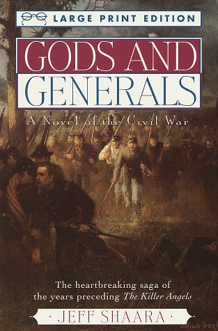 9780679758853: Gods and Generals (Random House Large Print)