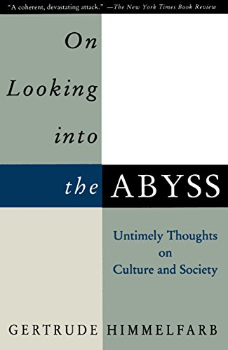 9780679759232: On Looking Into the Abyss: Untimely Thoughts on Culture and Society