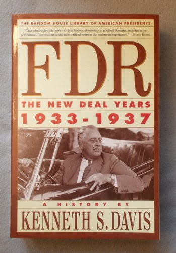 9780679761242: FDR: The New Deal Years : 1933-1937 : A History