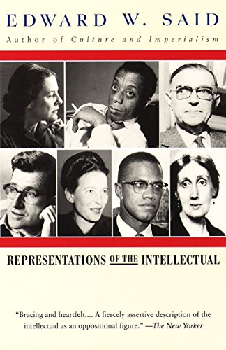 9780679761273: Representations of the Intellectual (The Reith lectures)