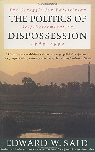 9780679761457: The Politics of Dispossession: The Struggle for Palestinian Self-Determination, 1969-1994