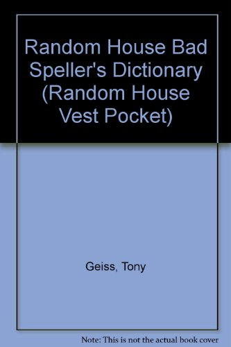 Bad Spellers, Second Edition (Random House Vest Pocket): Krevisky, Joseph