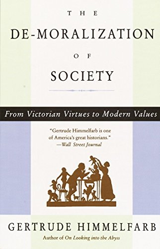 9780679764908: The De-moralization Of Society: From Victorian Virtues to Modern Values