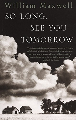 9780679767206: So Long, See You Tomorrow: Virtage International Edition (Vintage International)
