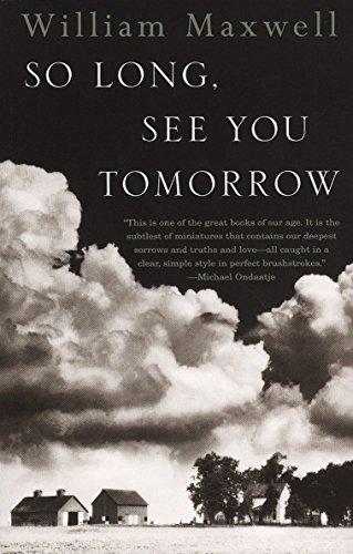 9780679767206: So Long, See You Tomorrow