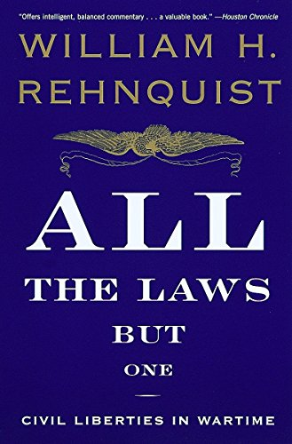 9780679767329: All the Laws but One: Civil Liberties in Wartime