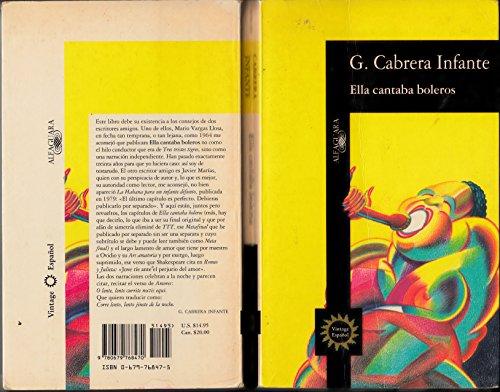 9780679768470: Ella Cantaba Boleros (Vintage espa nol)