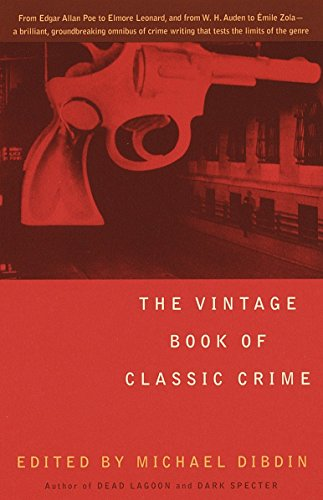 9780679768555: The Vintage Book of Classic Crime