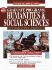 Student Advantage Guide to the Best Graduate Programs: Humanities & Social Scien ces 1997-98 ...