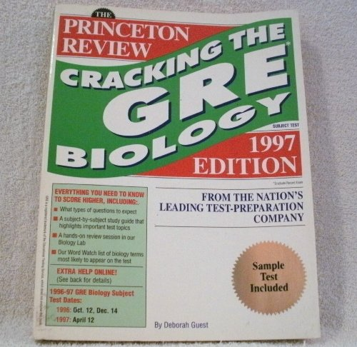 Cracking the GRE Biology, 1997 ed (Annual) (0679769218) by Princeton Review