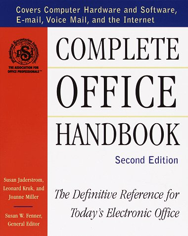 9780679770381: Complete Office Handbook: The Definitive Reference for Today's Electronic Office (Second Edition)