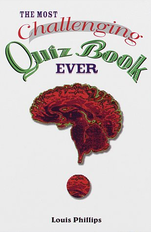 9780679770909: The Most Challenging Quiz Book Ever