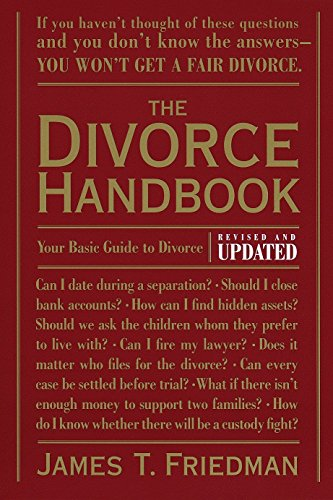 9780679771302: The Divorce Handbook: Your Basic Guide to Divorce (Revised and Updated)