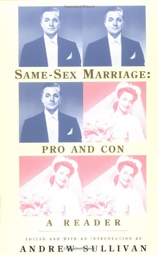 9780679776376: Same-Sex Marriage: Pro and Con: A Reader