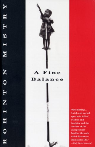 rohinton mistry a fine balance Rohinton mistry cm (born 3 july 1952) is an indian-born canadian writer he was awarded the neustadt international prize for literature in 2012.