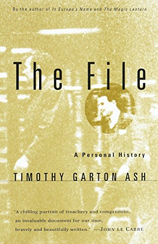9780679777854: The File: a Personal History