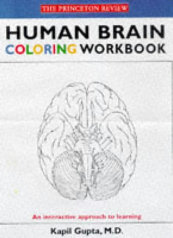 9780679778851: The Princeton Review Human Brain Coloring Workbook