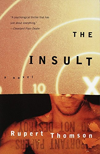 9780679781509: The Insult (Vintage Crime/Black Lizard)