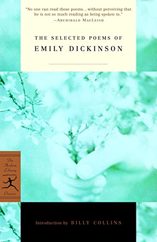 Selected Poems of Emily Dickinson (Modern Library)