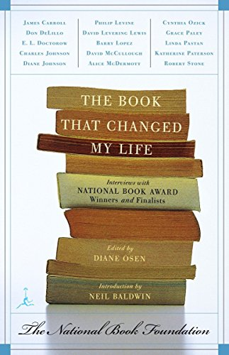 9780679783510: The Book That Changed My Life: Interviews with National Book Award Winners and Finalists (Modern Library Paperbacks)