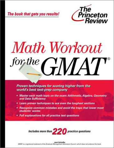 Math Workout for the GMAT (Princeton Review: Jeannie Yoon,Princeton Review,