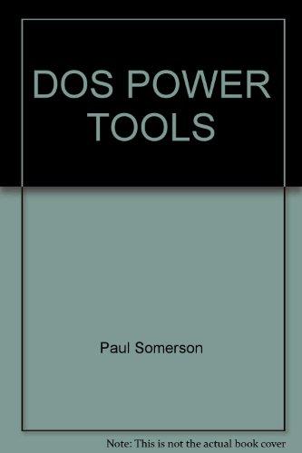9780679790143: Dos Power Tools