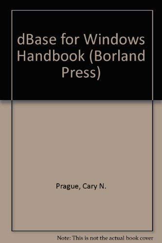 9780679791317: DBASE 5.0 for Windows Handbook (Borland Press)