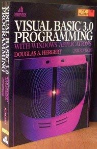9780679791492: Visual Basic 3.0 Programming with Windows Applications w/disk