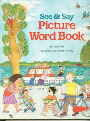 9780679800996: See and Say Picture Word Book
