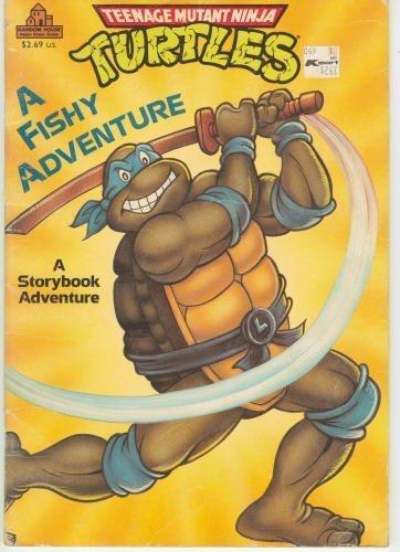 9780679803935: A Fishy Adventure; A Storybook Adventure (Teenage Mutant Ninja Turtles)
