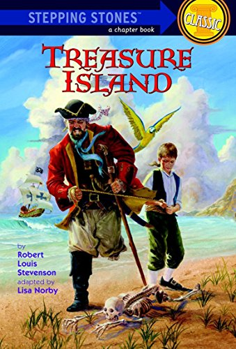 Treasure Island (A Stepping Stone Book(TM)): Norby, Lisa