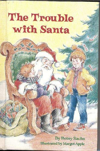 9780679804109: THE TROUBLE WITH SANTA (Stepping Stone Books)