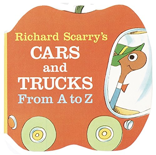 9780679806639: Richard Scarry's Cars and Trucks from A to Z (A Chunky Book)