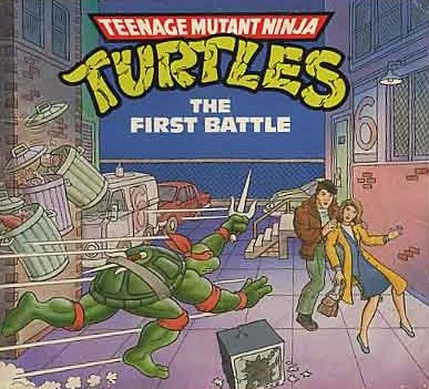 9780679806684: Teenage Mutant Ninja Turtles; The First Battle (Teenage Mutant Ninja Turtles Mini-Storybook)