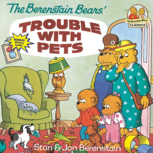 9780679808480: The Berenstain Bears' Trouble with Pets