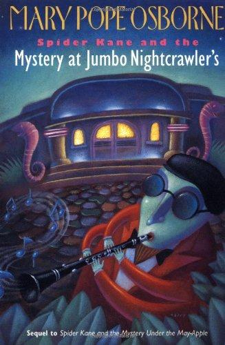 9780679808565: Spider Kane and the Mystery at Jumbo Nightcrawler's