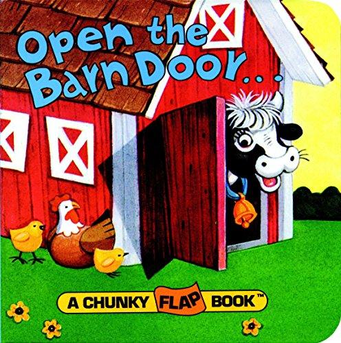 9780679809012: Open The Barn Door Chunky Flap Bk (A Chunky Flap Book)