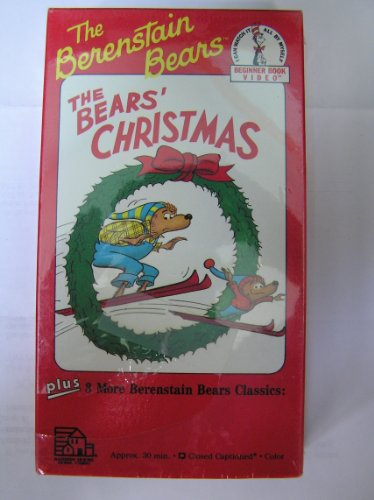 9780679810339: The Bears' Christmas/Inside Outside Upside Down/Bike Lesson [VHS]