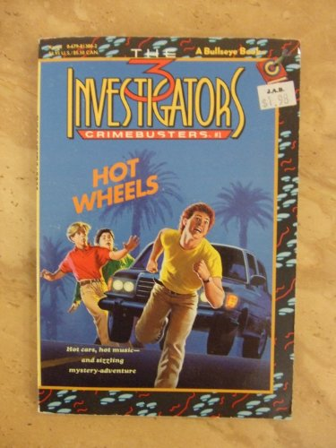 9780679813804: HOT WHEELS (Three Investigators Crimebusters #1)