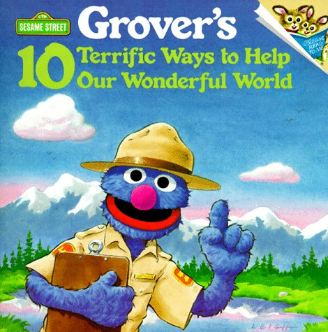 9780679813842: Grover's 10 Terrific Ways to Help Our Wonderful World (Pictureback(R))
