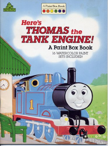 9780679816485: Thomas the Tank Engine and His Friends: A Paint Box Book