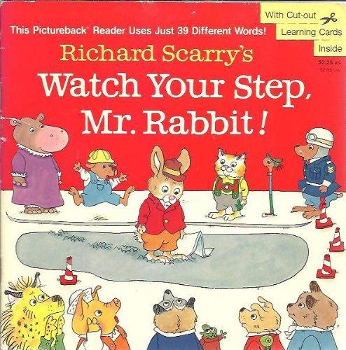 9780679819660: Watch Your Step, Mr. Rabbit!