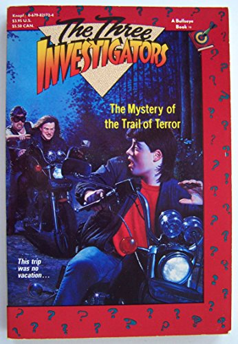 9780679821724: The Three Investigators: Mystery of the Trail of Terror (Three Investigators Series)