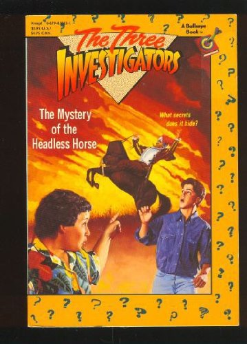 9780679830429: The Mystery of the Headless Horse (Three Investigators)
