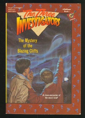 9780679832591: The Mystery of the Blazing Cliffs (Three Investigators, No. 32)