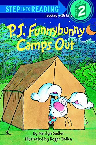 9780679832690: P. J. Funnybunny Camps Out (Step into Reading)