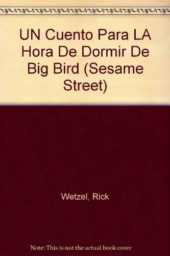 UN CUENTO PARA LA HORA DE DORMIR DE BIG BIRD (Sesame Street) (0679835008) by Wetzel, Rick