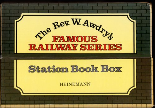 Thomas the Tank Engine Station Book Box: The 26 Original Books from the Famous Railway Series: ...