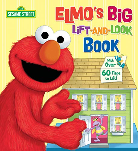 9780679844686: Elmo's Big Lift-And-Look Book (Sesame Street) (Great Big Board Book)