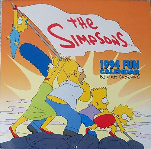 9780679847496: The Simpson's Fun-1994 Calendar
